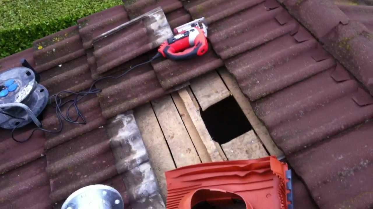 Ecovertec installation mat olienne de toit en is re 38 youtube - Eolienne de toit ...