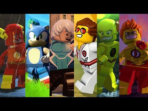 ALL Speedsters from Lego Videogames