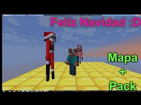 Especial Navidad - Mapa de Aventuras + Pack de Texturas [ Minecraft ]  - Regalo de Felices Fiestas !