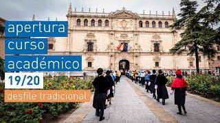 Desfile tradicional · Apertura del Curso Académico 2019-2020