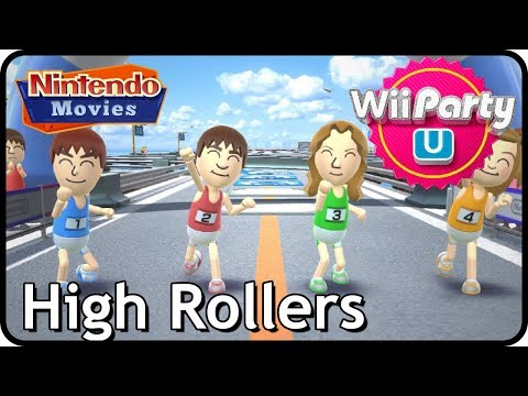 Wii Party U - High Rollers - Party Mode (Multiplayer)