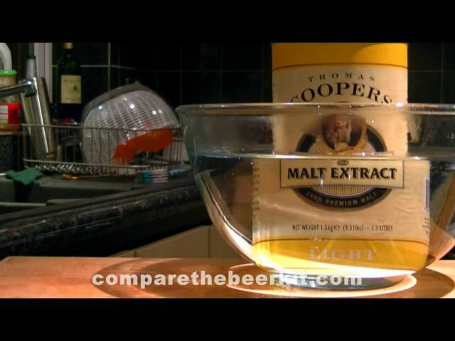 Making A Light, Refeshing Beer from Malt Extract (Part 1)