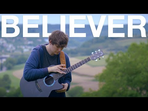 Believer - Imagine Dragons - Fingerstyle Guitar Cover #1