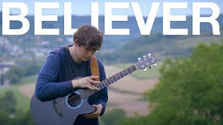 download lagu Believer - Imagine Dragons - Fingerstyle Guitar Cover gratis