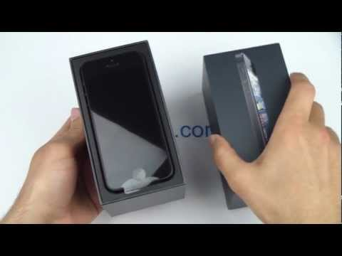 iPhone 5 Unboxing - فتح صندوق ايفون 5