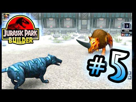 Jurassic Park Builder: GLACIER Tournament: Part 5 Wolf! HD