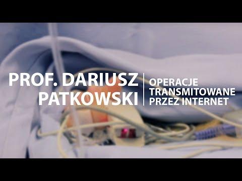 Uniwersytet Medyczny We Wrocławiu Transmituje Operacje Przez Internet - Profesor Dariusz Patkowski