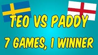 TEO VS PADDY - THE ULTIMATE SWE VS ENG 1V1
