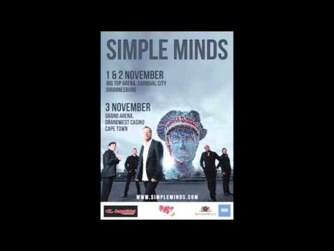 Simple Minds- Live in South Africa (Radio Spot)