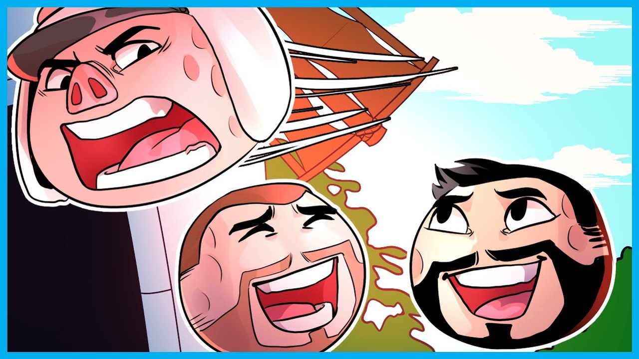 GOLF IT FUNNY MOMENTS! - EXTREME MINI GOLF RAGE, COLLISION TROLLING, AND MORE!
