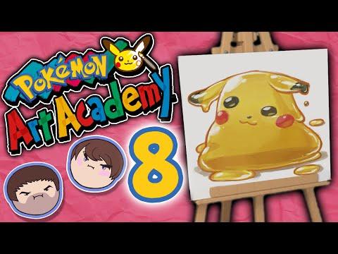 Pokemon Art Academy: Who Are You!?! - PART 8 - Grumpcade