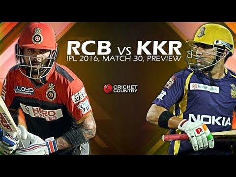RCB vs kkr full Match