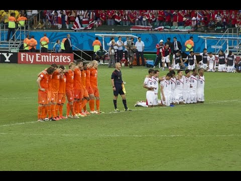 Netherlands v Costa Rica World Cup penalty shoot-out