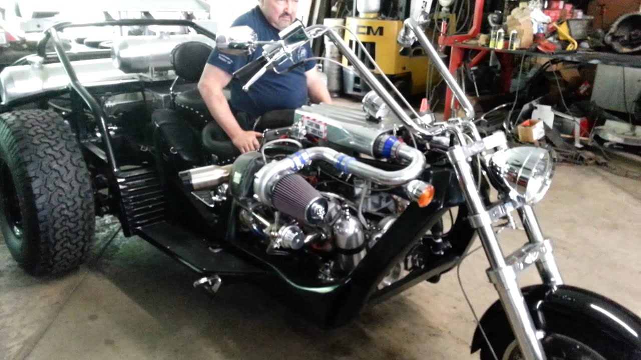 Bikes 2 Trikes Of Kc KC Choppers twin turbo V