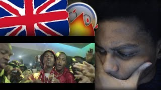 AMERICAN FIRST REACTION TO UK RAP DRILL/GRIME (PART 17) ft. CB, V9, Nines, Skengdo x AM & MORE!