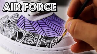Custom AIR FORCE 1 - ( SATISFYING! )