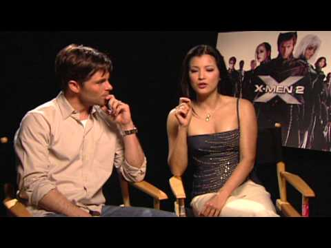 X-Men 2: James Marsen & Kelly Hu Interviews thumbnail
