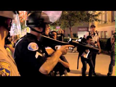 Raw video: Riot in Anaheim,CA July 24, 2012