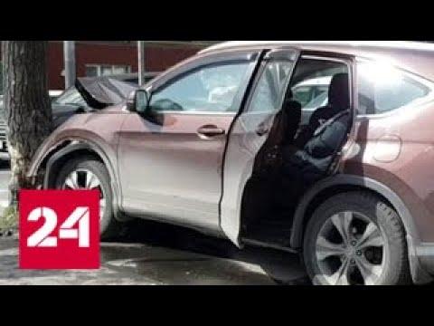 На юге Москвы водитель легковушки влетел в дерево - Россия 24