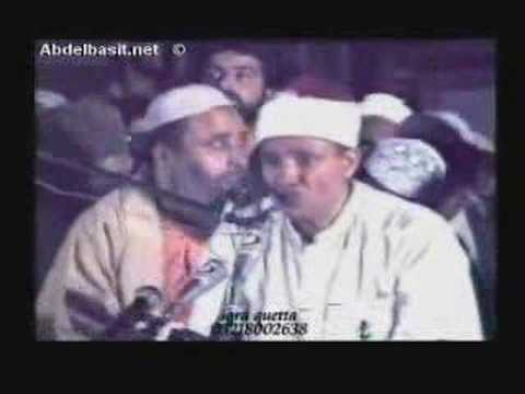 Qari Abdul Basit - Surah Haqqah *breathtaking* video