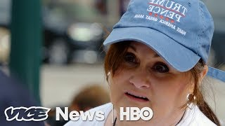 People Outside A Trump Rally Told Us Why They Hate The Media (HBO)