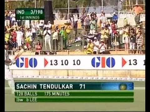 Sachin humiliated by Brett Lee compilation
