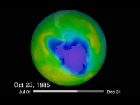See the Hole in the Ozone Layer  (1979 - 2012)