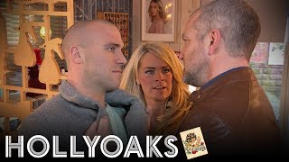 Hollyoaks: Grace Covers For Adam