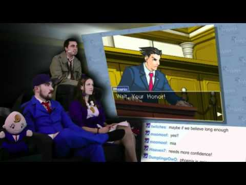 Judge Waits for Phoenix Wright for 3 Hours (FFStv)