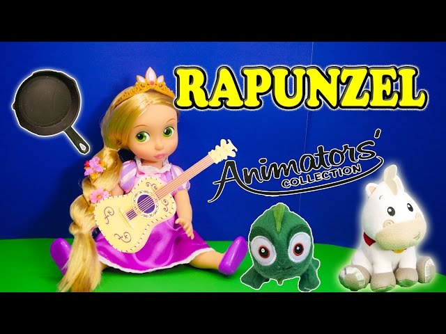 RAPUNZEL Disney Princess Rapunzel Animator Collection Disney Tangled Video Toy Review