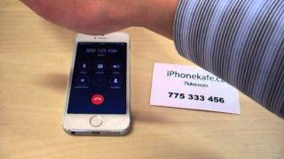 iPhone 5 - test proximity senzor (iPhonekafe.cz)