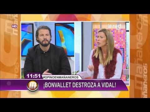 Eduardo Bonvallet destrozó a Arturo Vidal y a Jorge Sampaoli
