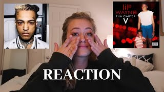Lil Wayne - Don't Cry - Ft. xxxtentacion (REACTION) CARTER V