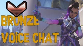 Toxic girl in bronze voice chat - Overwatch