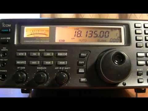 18135khz,Ham Radio,VR2XMT(Hong Kong) 13-23UTC.