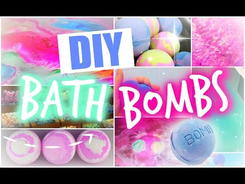 DIY: BATH BOMBS / БОМБОЧКИ ДЛЯ ВАННЫ | Сделай Сам