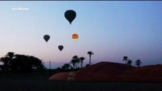 Mısır'da balon faciası