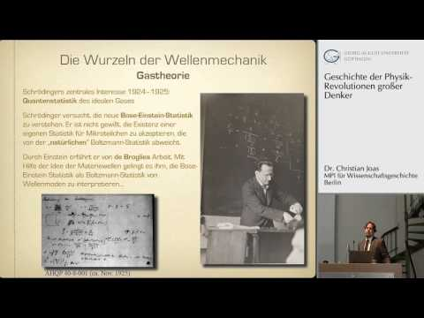 Erwin Schrdinger und die Geschichte der Wellenmechanik