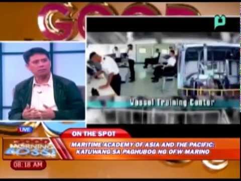 Panayam ukol sa Maritime Academy of Asia and the Pacific; katuwang sa paghubog ng OFW Marino