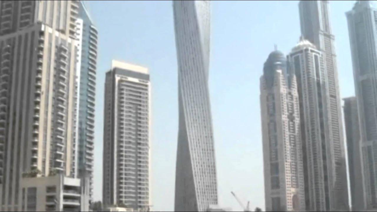 Ecco il grattacielo a elica pi alto del mondo youtube - Dubai grattacielo piu alto ...