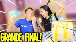 O ÚLTIMO A PARAR DE COMER GANHA R$3 MIL REAIS! *a grande final*