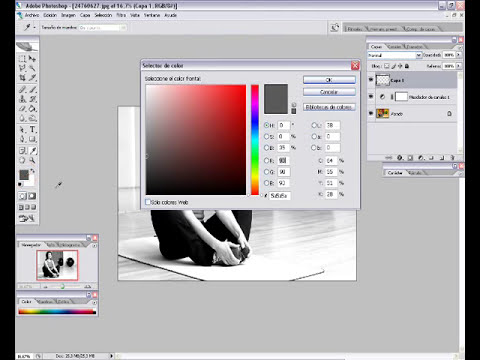 Tutorial Photoshop : Blanco y Negro Profesional