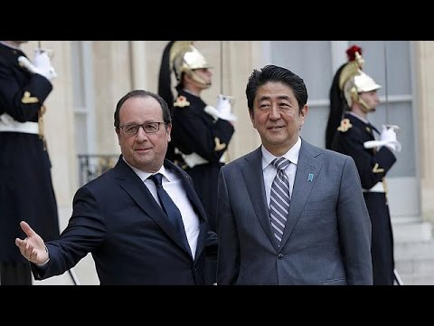 Japan's PM embarks on whirlwind European tour ahead of G7 summit