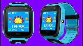 New Kids Smartwatch with Flashlight & camera