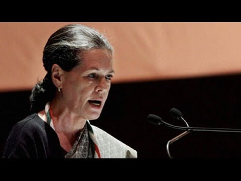 Sonia Gandhi : BJP manifesto threat to unity
