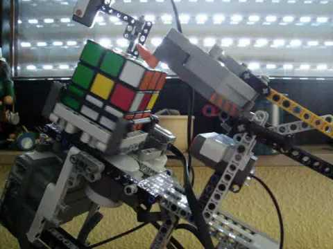Lego Mindstorms NXT 2.0 - Rubiks Cube Solver