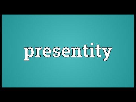 Header of Presentity