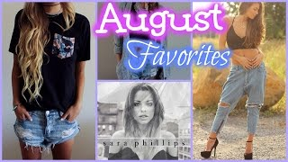 August Favorites! // Beauty, Fashion & more!