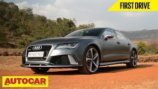 Audi RS7 In India | First Drive Video Review | Autocar India