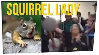 Lady Kicked Off Flight for Emotional Support Squirrel ft. DavidSoComedy